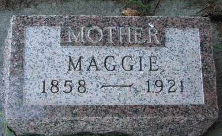 CHAPMAN, MAGGIE - Wayne County, Nebraska | MAGGIE CHAPMAN - Nebraska Gravestone Photos