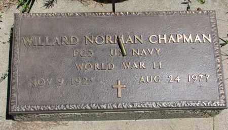 CHAPMAN, WILLARD NORMAN - Wayne County, Nebraska | WILLARD NORMAN CHAPMAN - Nebraska Gravestone Photos