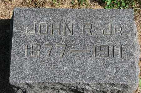 CLARK, JOHN R. JR. - Wayne County, Nebraska | JOHN R. JR. CLARK - Nebraska Gravestone Photos