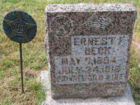 DECK, ERNEST F. - Wayne County, Nebraska | ERNEST F. DECK - Nebraska Gravestone Photos