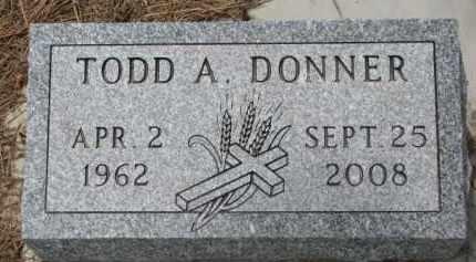 DONNER, TODD A. - Wayne County, Nebraska | TODD A. DONNER - Nebraska Gravestone Photos