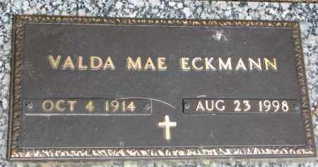 ECKMANN, VALDA MAE - Wayne County, Nebraska   VALDA MAE ECKMANN - Nebraska Gravestone Photos