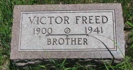 FREED, VICTOR - Wayne County, Nebraska   VICTOR FREED - Nebraska Gravestone Photos