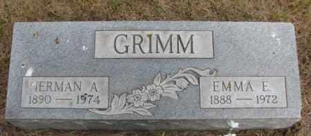 GRIMM, EMMA E. - Wayne County, Nebraska | EMMA E. GRIMM - Nebraska Gravestone Photos