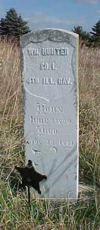 HUNTER, WILLIAM - Wayne County, Nebraska   WILLIAM HUNTER - Nebraska Gravestone Photos