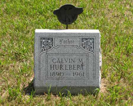 HURLBERT, CALVIN M. - Wayne County, Nebraska | CALVIN M. HURLBERT - Nebraska Gravestone Photos