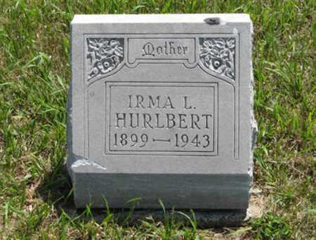 HURLBERT, IRMA L. - Wayne County, Nebraska | IRMA L. HURLBERT - Nebraska Gravestone Photos