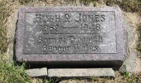 JONES, HUGH R. - Wayne County, Nebraska | HUGH R. JONES - Nebraska Gravestone Photos
