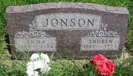 JONSON, ANNA - Wayne County, Nebraska   ANNA JONSON - Nebraska Gravestone Photos