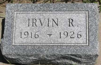 JONSON, IRVIN R. - Wayne County, Nebraska | IRVIN R. JONSON - Nebraska Gravestone Photos