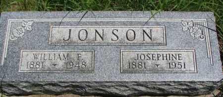 JONSON, JOSEPHINE - Wayne County, Nebraska | JOSEPHINE JONSON - Nebraska Gravestone Photos