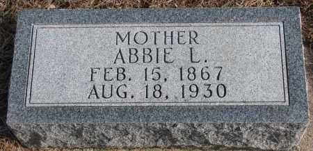 BECK KINGSTON, ABBIE L. - Wayne County, Nebraska | ABBIE L. BECK KINGSTON - Nebraska Gravestone Photos