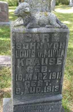 KRAUSE, CARL - Wayne County, Nebraska   CARL KRAUSE - Nebraska Gravestone Photos
