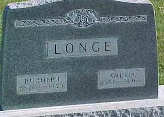 LONGE, AMELIA - Wayne County, Nebraska   AMELIA LONGE - Nebraska Gravestone Photos