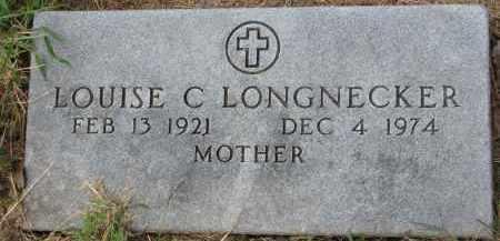 LONGNECKER, LOUISE C. - Wayne County, Nebraska | LOUISE C. LONGNECKER - Nebraska Gravestone Photos
