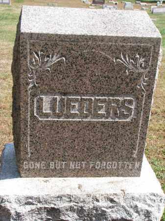 LUEDERS, FAMILY STONE - Wayne County, Nebraska | FAMILY STONE LUEDERS - Nebraska Gravestone Photos