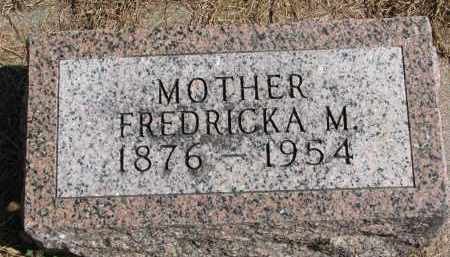 LUEDERS, FREDRICKA M. - Wayne County, Nebraska | FREDRICKA M. LUEDERS - Nebraska Gravestone Photos