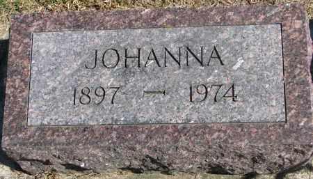 LUEDERS, JOHANNA - Wayne County, Nebraska | JOHANNA LUEDERS - Nebraska Gravestone Photos