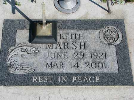 MARSH, KEITH - Wayne County, Nebraska | KEITH MARSH - Nebraska Gravestone Photos