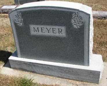 MEYER, FAMILY STONE - Wayne County, Nebraska | FAMILY STONE MEYER - Nebraska Gravestone Photos