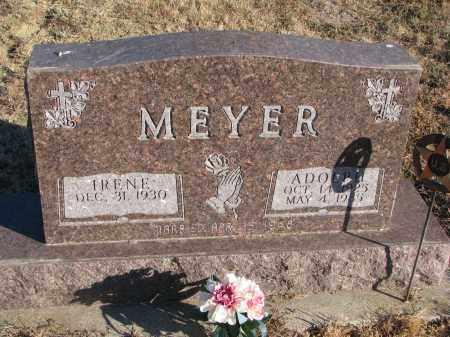 MEYER, ADOLPH - Wayne County, Nebraska | ADOLPH MEYER - Nebraska Gravestone Photos