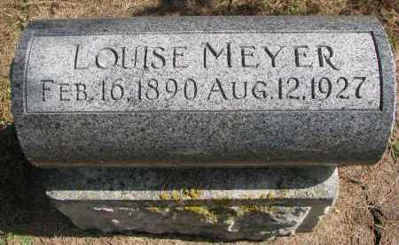 MEYER, LOUISE - Wayne County, Nebraska | LOUISE MEYER - Nebraska Gravestone Photos