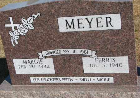 MEYER, FERRIS - Wayne County, Nebraska | FERRIS MEYER - Nebraska Gravestone Photos