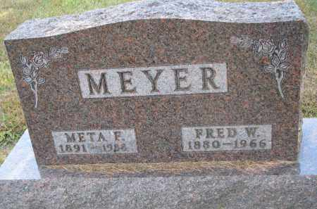 MEYER, META F. - Wayne County, Nebraska | META F. MEYER - Nebraska Gravestone Photos