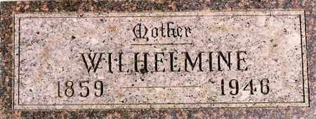 MEYER, WILHELMINE - Wayne County, Nebraska | WILHELMINE MEYER - Nebraska Gravestone Photos