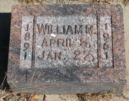MEYER, WILLIAM M. - Wayne County, Nebraska | WILLIAM M. MEYER - Nebraska Gravestone Photos