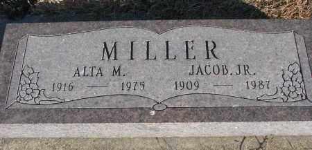 MILLER, JACOB JR. - Wayne County, Nebraska | JACOB JR. MILLER - Nebraska Gravestone Photos