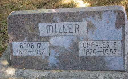 MILLER, ANNA MARY - Wayne County, Nebraska | ANNA MARY MILLER - Nebraska Gravestone Photos