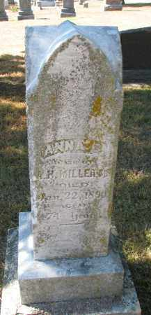 MILLER, ANNA C. - Wayne County, Nebraska | ANNA C. MILLER - Nebraska Gravestone Photos