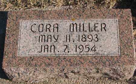 MILLER, CORA - Wayne County, Nebraska | CORA MILLER - Nebraska Gravestone Photos