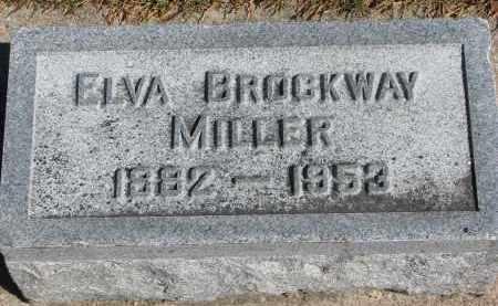 MILLER, ELVA - Wayne County, Nebraska | ELVA MILLER - Nebraska Gravestone Photos