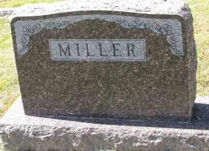MILLER, FAMILY STONE - Wayne County, Nebraska | FAMILY STONE MILLER - Nebraska Gravestone Photos