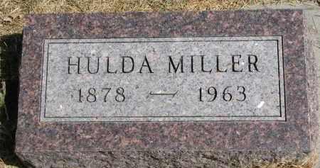 MILLER, HULDA - Wayne County, Nebraska   HULDA MILLER - Nebraska Gravestone Photos
