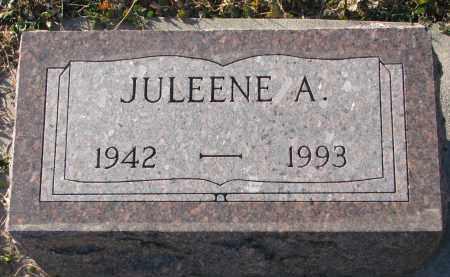 MILLER, JULEENE A. - Wayne County, Nebraska | JULEENE A. MILLER - Nebraska Gravestone Photos