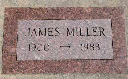 MILLER, JAMES - Wayne County, Nebraska | JAMES MILLER - Nebraska Gravestone Photos