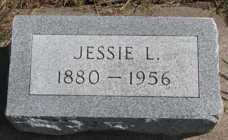 MILLER, JESSIE L. - Wayne County, Nebraska | JESSIE L. MILLER - Nebraska Gravestone Photos