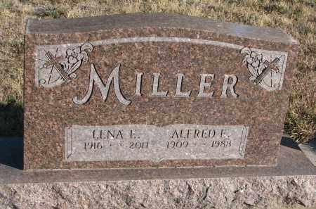 MILLER, LENA E. - Wayne County, Nebraska | LENA E. MILLER - Nebraska Gravestone Photos