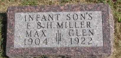 MILLER, GLEN - Wayne County, Nebraska | GLEN MILLER - Nebraska Gravestone Photos