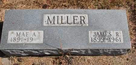 MILLER, MAE A. - Wayne County, Nebraska | MAE A. MILLER - Nebraska Gravestone Photos