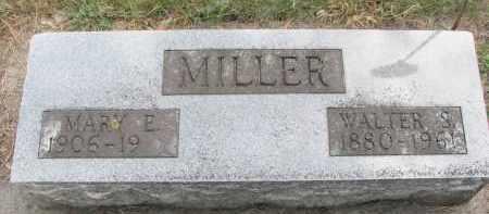 MILLER, WALTER S. - Wayne County, Nebraska | WALTER S. MILLER - Nebraska Gravestone Photos