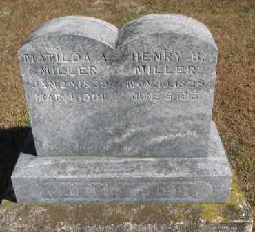 MILLER, HENRY B. - Wayne County, Nebraska | HENRY B. MILLER - Nebraska Gravestone Photos