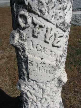 MILLER, OTIE (CLOSEUP) - Wayne County, Nebraska | OTIE (CLOSEUP) MILLER - Nebraska Gravestone Photos