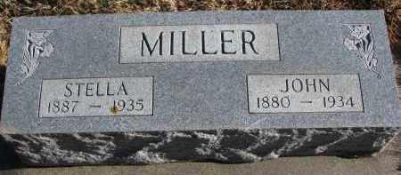 MILLER, JOHN - Wayne County, Nebraska | JOHN MILLER - Nebraska Gravestone Photos