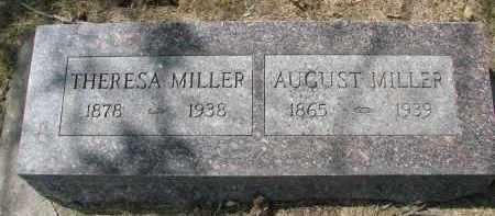 MILLER, AUGUST - Wayne County, Nebraska | AUGUST MILLER - Nebraska Gravestone Photos