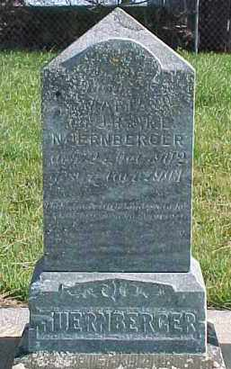 NUERNBERGER, MARIA - Wayne County, Nebraska   MARIA NUERNBERGER - Nebraska Gravestone Photos