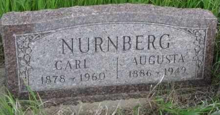 NURNBERG, AUGUSTA - Wayne County, Nebraska | AUGUSTA NURNBERG - Nebraska Gravestone Photos